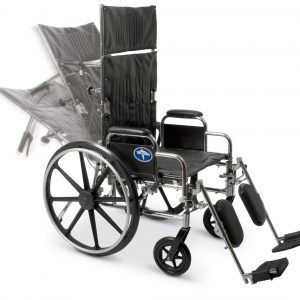 Rental Reclining Wheelchairs – Elevating Leg Rests – Lightweight