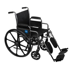 Rental Wheelchair – Elevating Leg Rests – Lightweight